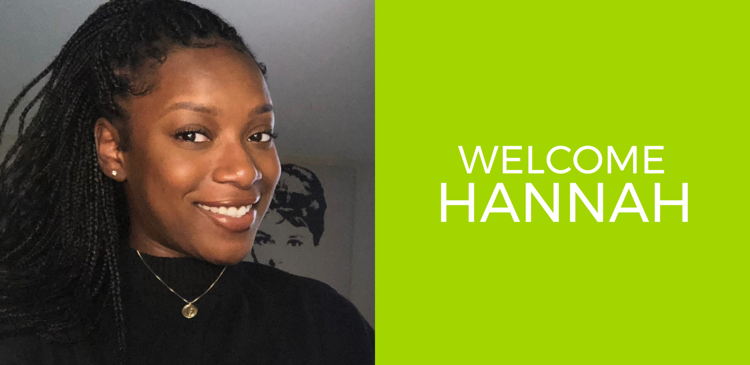 Welcome Hannah Simon, our newest Associate Account Executive
